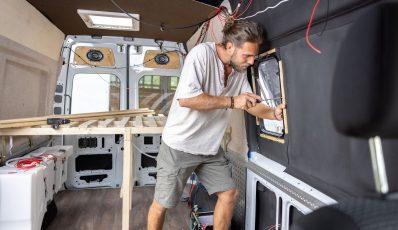 Bau eines Wohnmobils