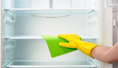 Kühlschrank waschen
