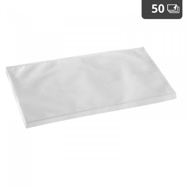 Worki moletowane do pakowania próżniowego - 50 szt. - 28 x 40 cm