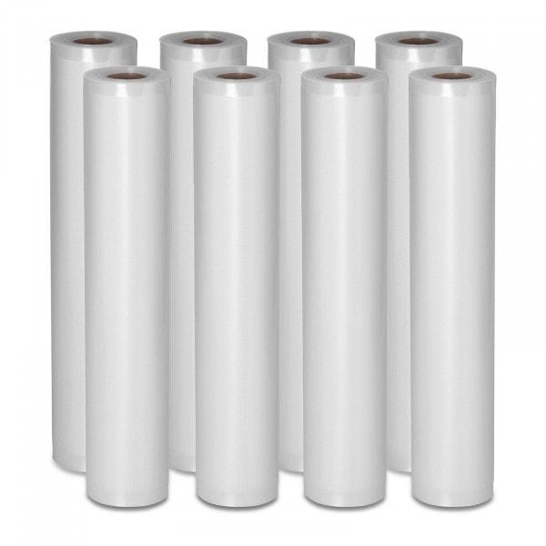 Folia moletowana do pakowania próżniowego - 8 rolek - 600 x 30 cm