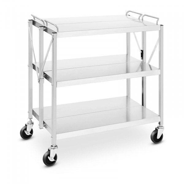 Wózek kelnerski - składany - 90 kg - 500 x 830 mm