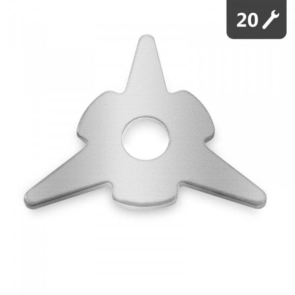 Podkładki trójkątne - zestaw - 20 szt.