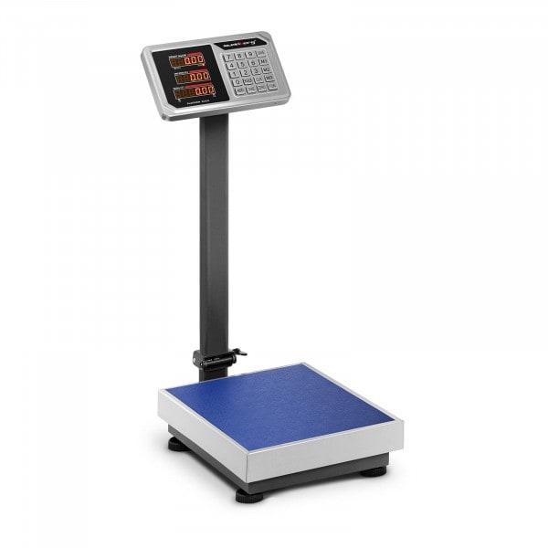 Waga platformowa - 100 kg / 20 g - LED