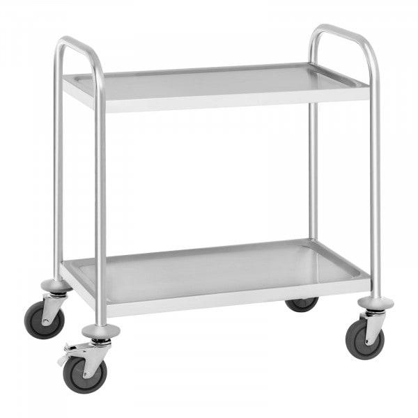 Wózek kelnerski - stal nierdzewna - 150 kg