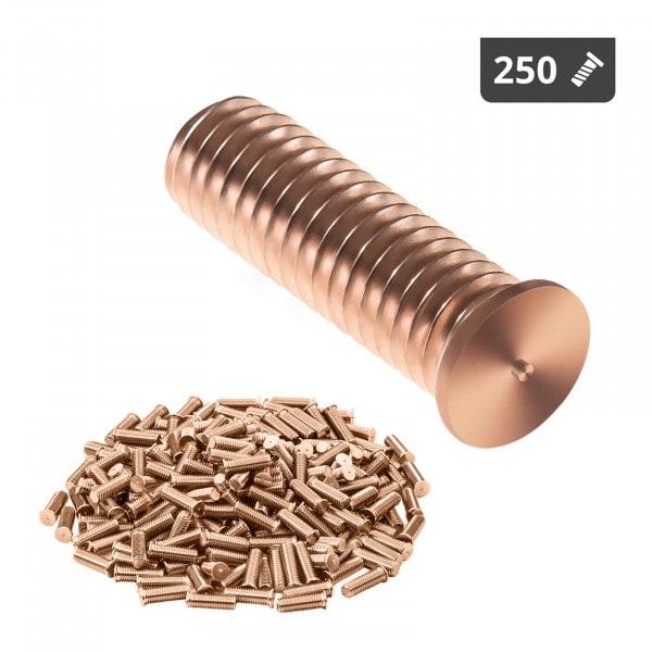 Kołki do zgrzewania - M6 - 20 mm - 250 sztuk
