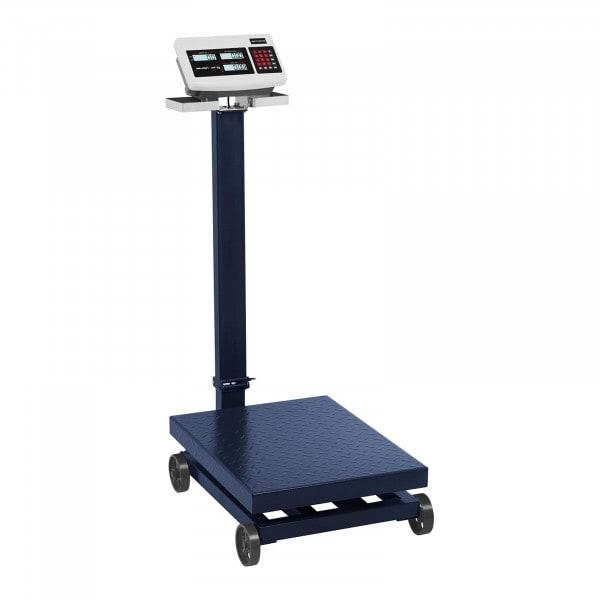 Waga platformowa - 600 kg / 100 g - kółka