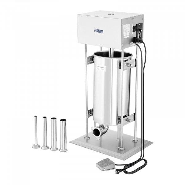 Nadziewarka do kiełbas - 15 litrów - elektryczna