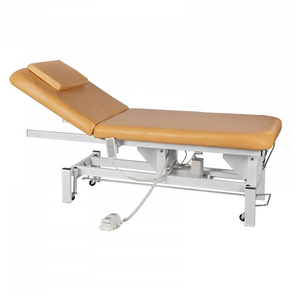 Elektryczne łóżko do masażu Physa Sana beżowe
