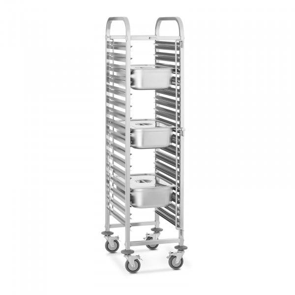 Wózek transportowy - 150 kg - 16 x GN 1/1