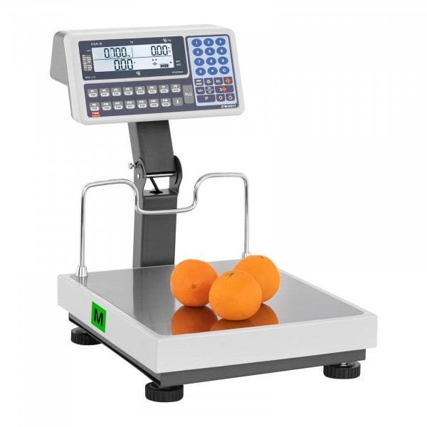 Waga sklepowa - 30 kg (10 g) / 60 kg (20 g) - legalizacja