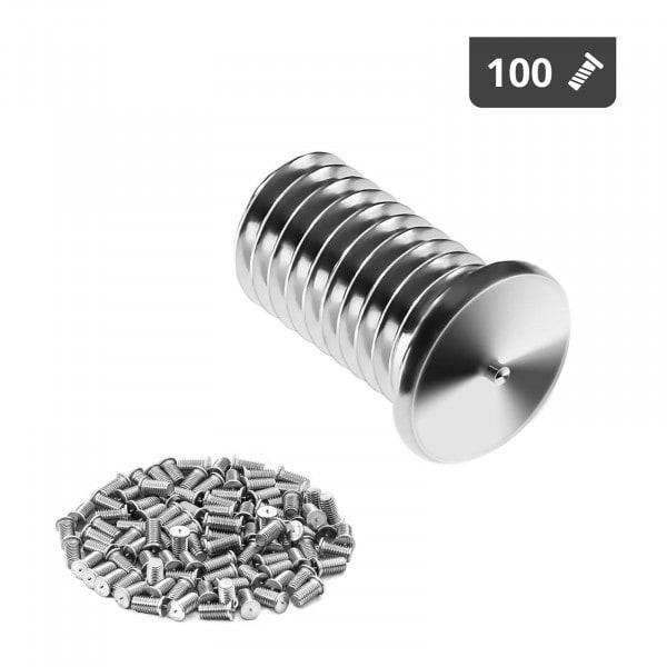 Kołki do zgrzewania - M5 - 10 mm - 100 sztuk