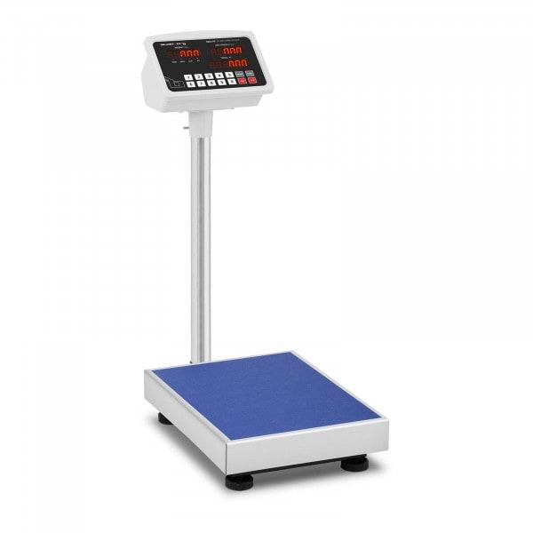 Waga platformowa - 100 kg / 10 g - LED