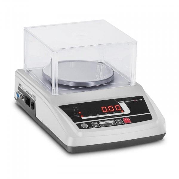 Waga laboratoryjna - 3000 g / 0,01 g - LED - osłona