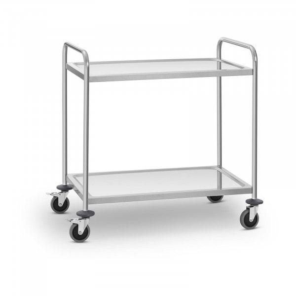 Wózek kelnerski - 2 półki - 120 kg