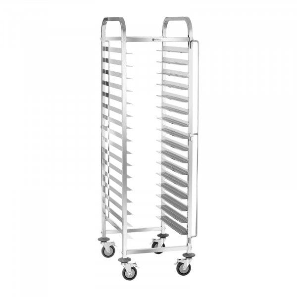 Wózek transportowy - 150 kg - 16 tac 60 x 40 cm