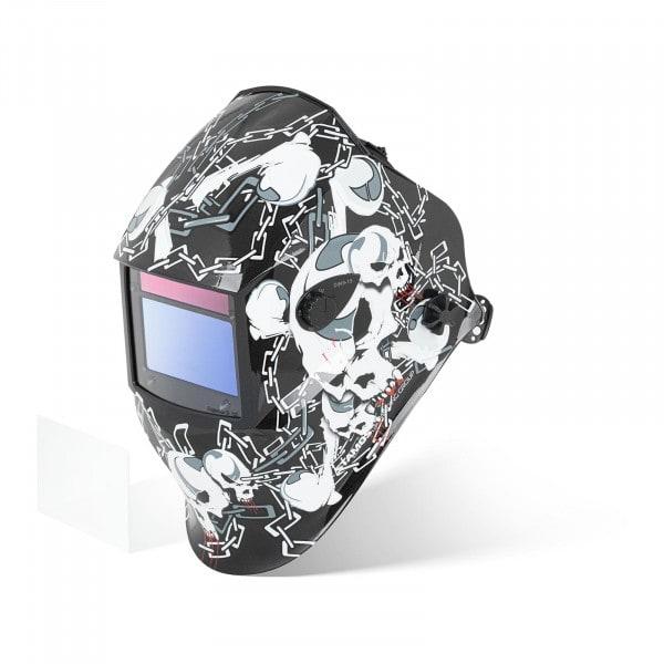 Maska spawalnicza - Black Skull - Advanced