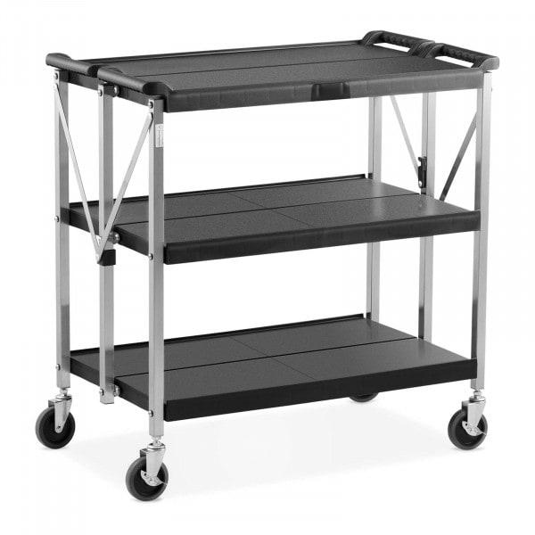 Wózek kelnerski - składany - 90 kg - 512 x 830 mm