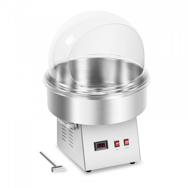 Zestaw Maszyna do waty cukrowej - 52 cm - LED + Pokrywa ochronna