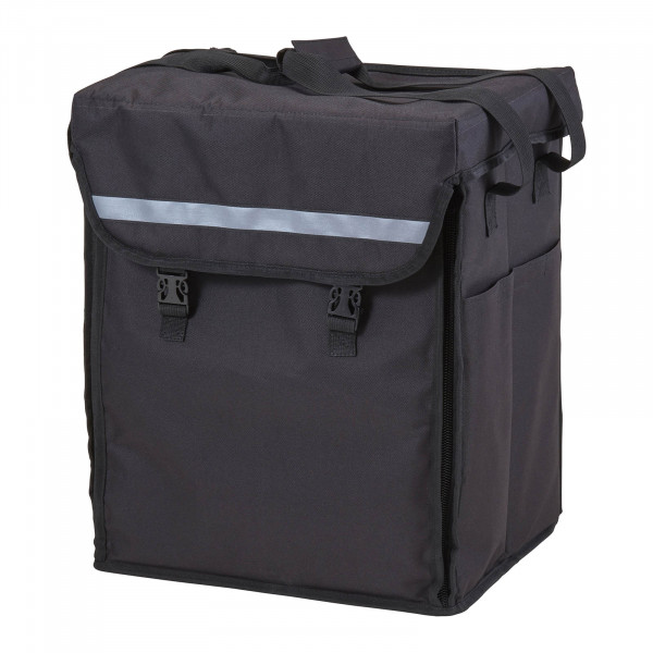 Torba termiczna - 28 x 35,5 x 43 cm - czarna - plecak