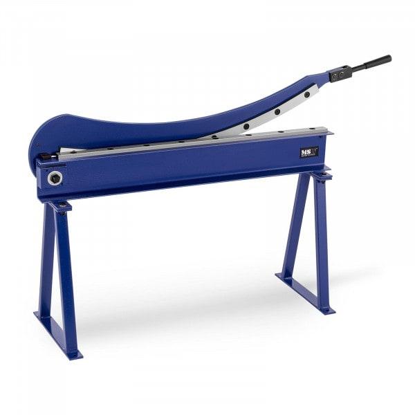 Nożyce do blachy - ręczne - gilotynowe - 1000 mm