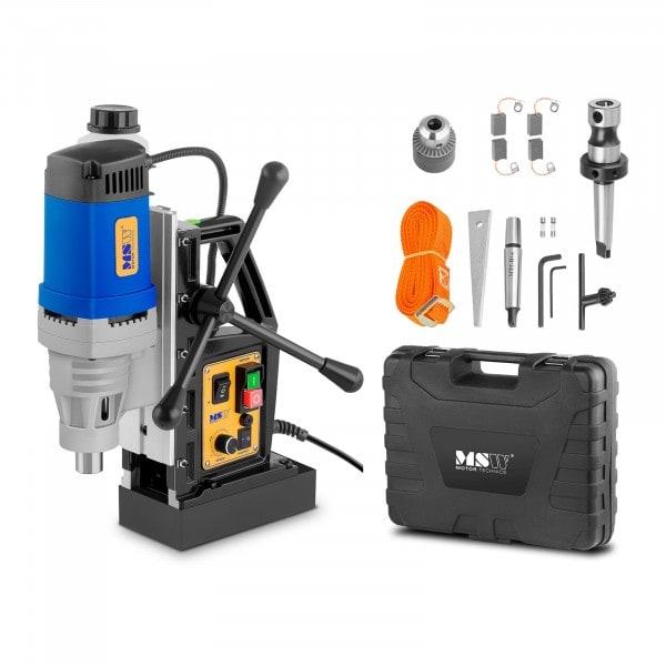 Wiertarka magnetyczna - 1380W - walizka akcesoriów