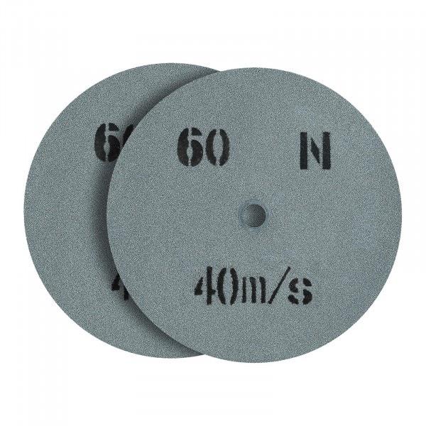 Tarcza do szlifowania - ziarnistość 60 - 200 x 20 mm - 2 szt.