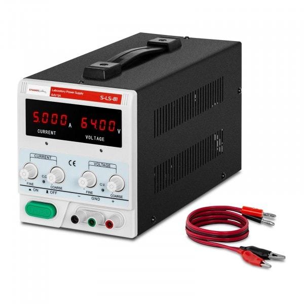 Zasilacz laboratoryjny - 0-64 V - 0-5 A - 320 W
