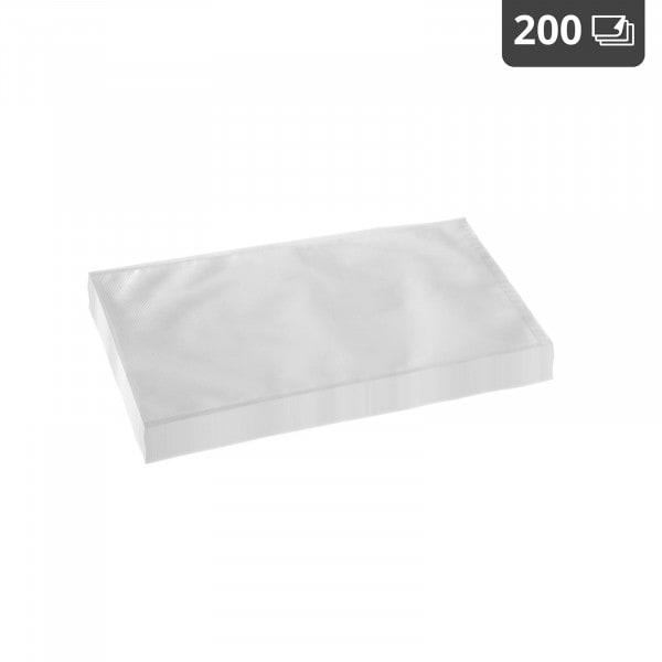 Worki moletowane do pakowania próżniowego - 200 szt. - 20 x 30 cm