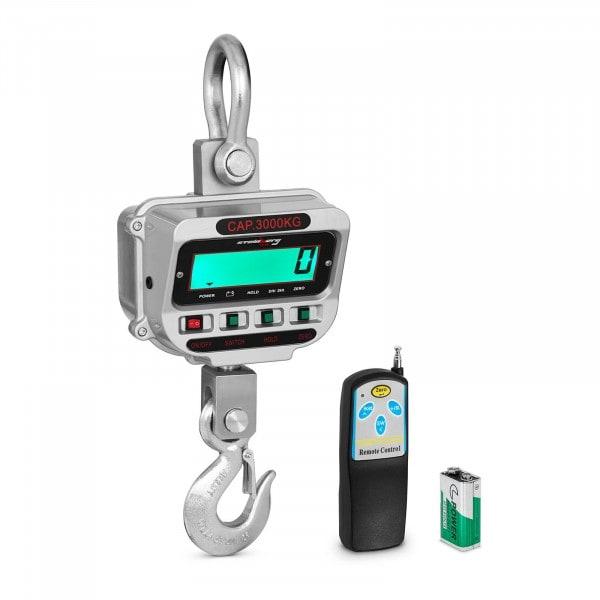 Waga hakowa - 3 t / 0,5 kg - LCD