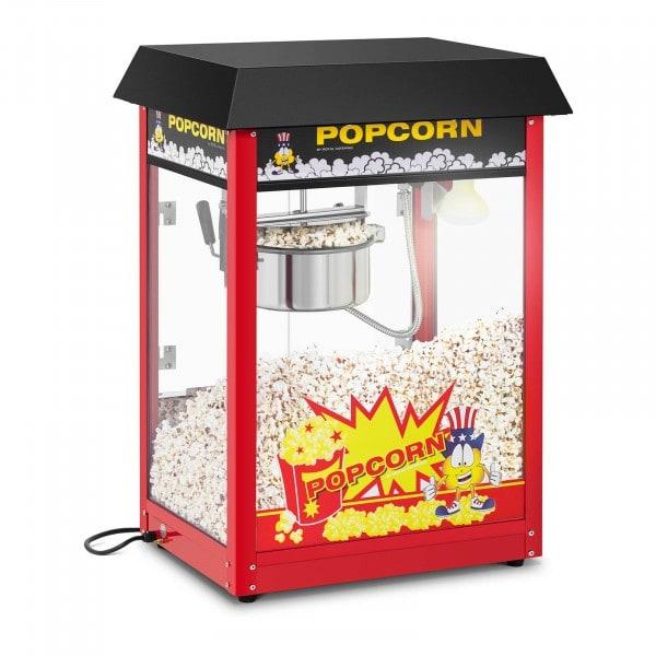 Maszyna do popcornu - 1495 W - czarny daszek