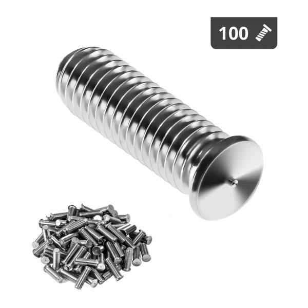 Kołki do zgrzewania - M5 - 15 mm - 100 sztuk