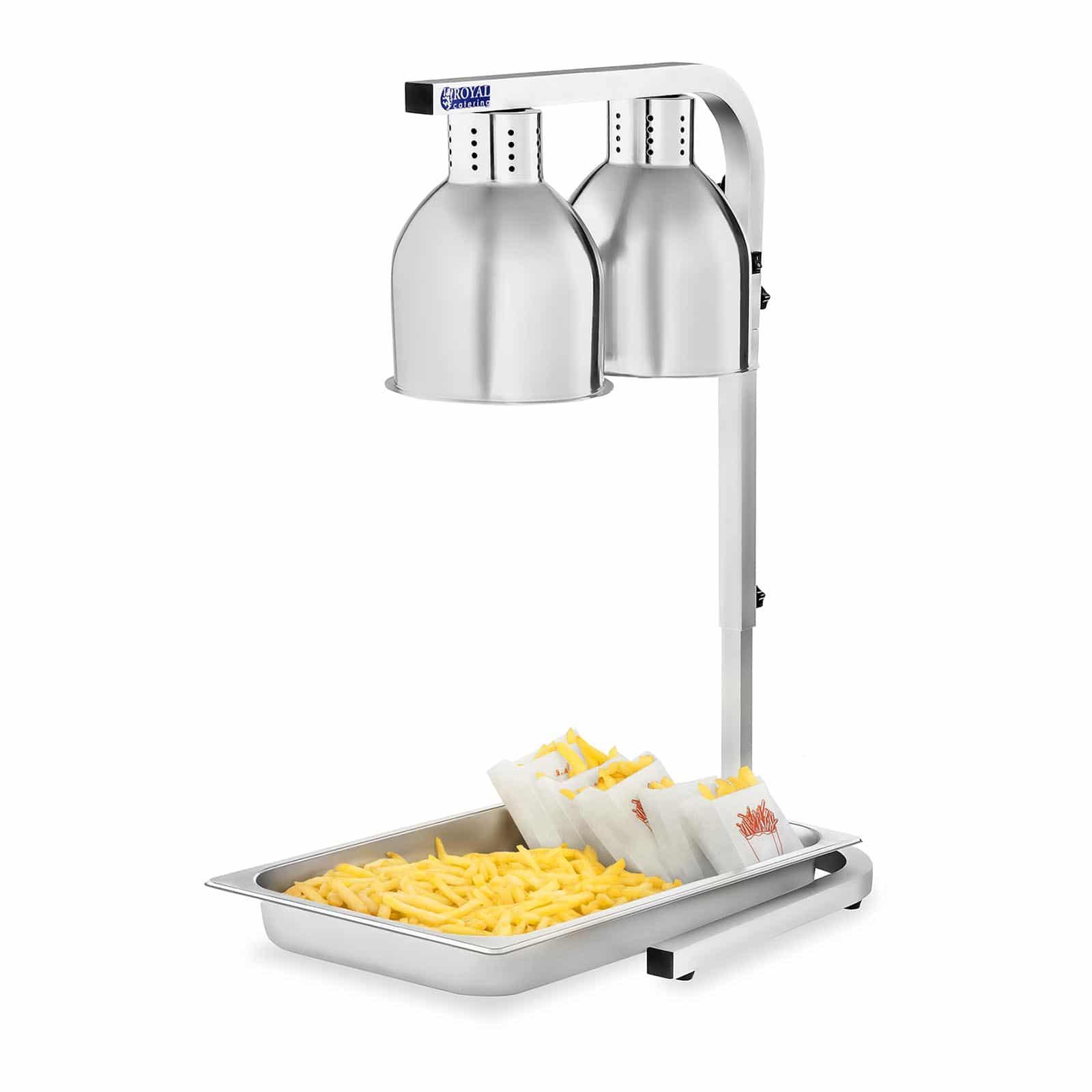 Lampy grzewcze do potraw