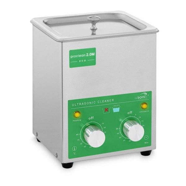 Myjka ultradźwiękowa - 2 litry - 60 W - Basic Eco