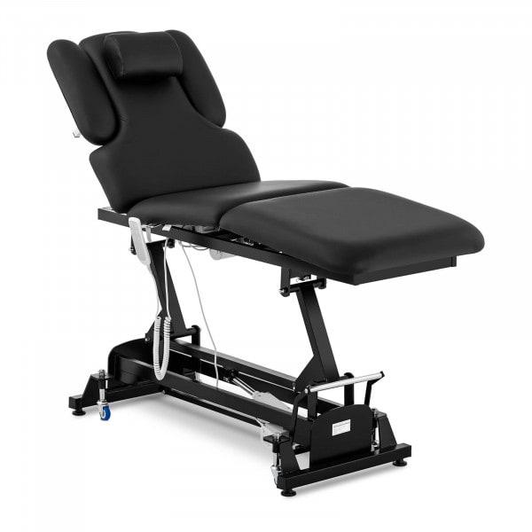 Łóżko do masażu physa Nantes Black - czarne