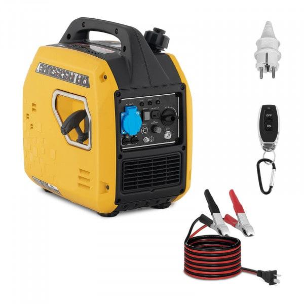 Agregat prądotwórczy - 2100 W - 230 V AC / 12 V DC - rozrusznik elektryczny
