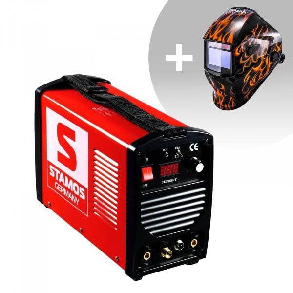 Spawarka TIG - 200 A - 230 V - przenośna - PLUS maska spawalnicza - Firestarter 500 - Advanced