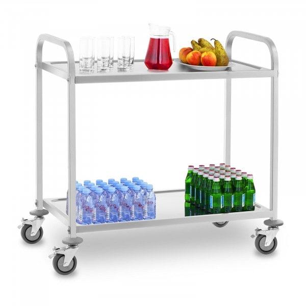 Wózek kelnerski - stal szlachetna - do 160 kg