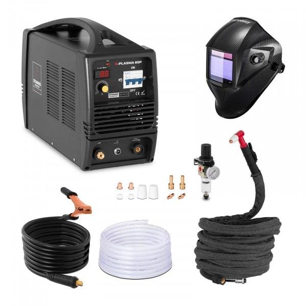 Przecinarka plazmowa - 80 A - 400 V + Maska spawalnicza - Carbonic - Professional
