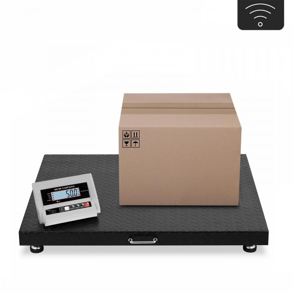 Waga magazynowa - 3 t / 1 kg - bezprzewodowy terminal