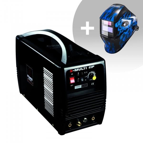 Urządzenie wielofunkcyjne - TIG 160 A - CUT 40 A - MMA - PRO - + Maska spawalnicza - Sub Zero - Easy