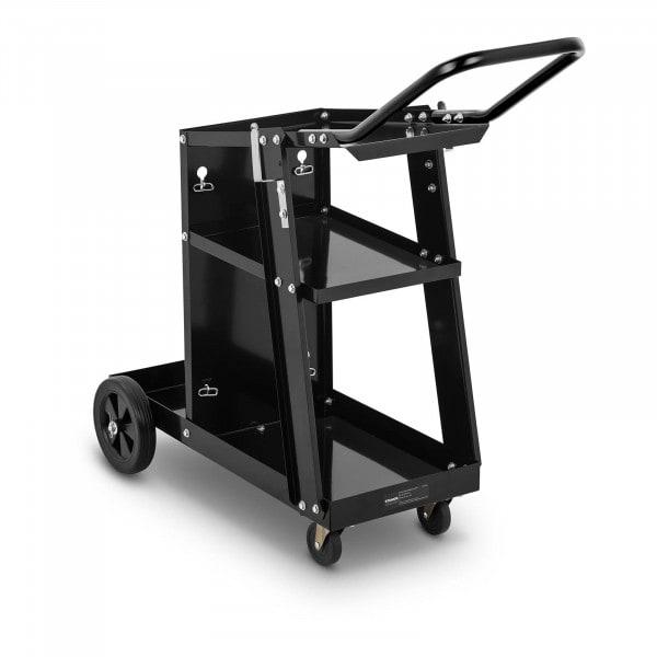 Wózek spawalniczy - 3 półki - 80 kg - rączka