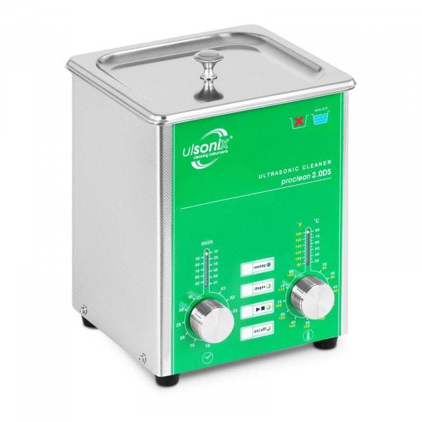 Myjka ultradźwiękowa - 2 litry - 80 W - Degass - Sweep
