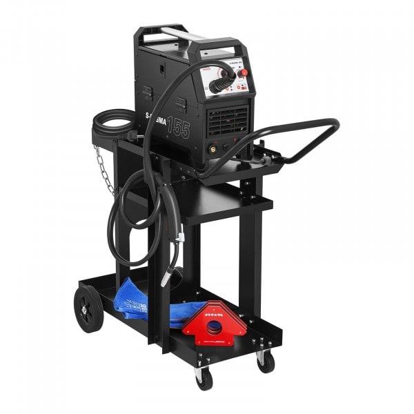 Wózek spawalniczy - 3 półki - prosty - 75 kg