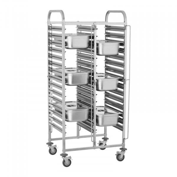 Wózek transportowy - 150 kg - 30 x GN 1/1