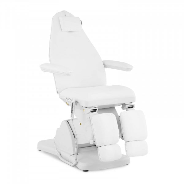 Fotel do pedicure VICENZA WHITE - biały