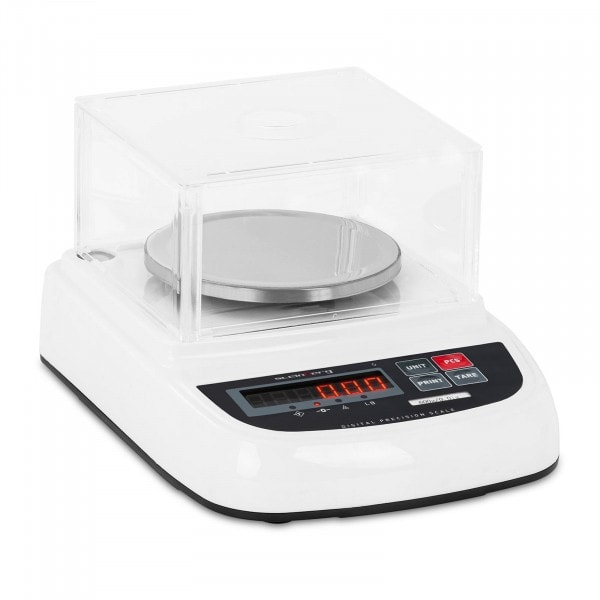Waga laboratoryjna - 600 g / 0,01 g - osłona - LED