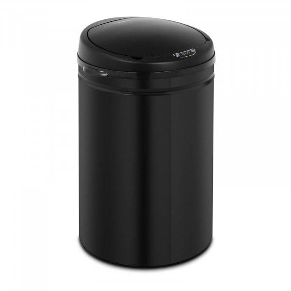 Automatyczny kosz na śmieci 30 l - czujnik 30 cm - czarny