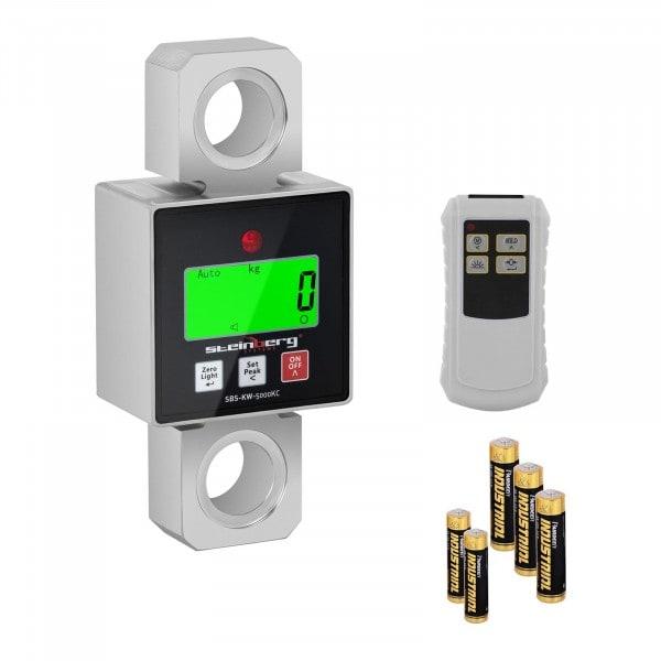 Waga hakowa - 5000 kg / 1 lub 2 kg - LCD