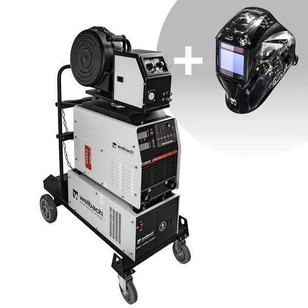 Spawarka MIG/MAG - 500 A - 400 V - LED - 2.0 - plus - maska spawalnicza - Metalator - Expert
