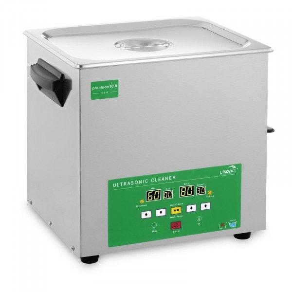 Myjka ultradźwiękowa - 10 litrów - 180 W - Memory Quick Eco